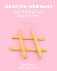 Pink Online Digital Marketing Webinar Instagram Portrait Marketing