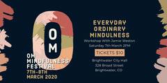 om mindfulness festival eventbrite banner Event Banner