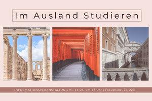 study aboard postcards  Postkarten