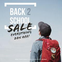 Back to School Sale Kids