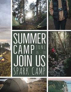 SUMMER Summer Camp Poster
