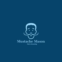 Mustache Mason Logo
