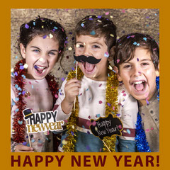 happy new year kids party igsquare  Kids