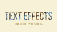 TEXT EFFECTS Banner
