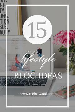 lifestyle blog idea Pinterest ad Lifestyle