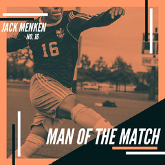 Orange Monochrome Soccer Man of the Match Instagram Square Soccer