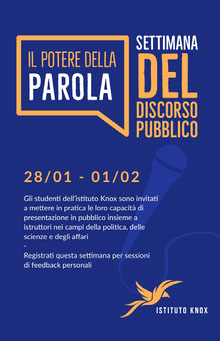 public speaking poster event  Poster