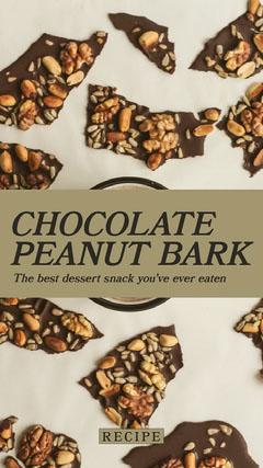 CHOCOLATE PEANUT BARK Dessert
