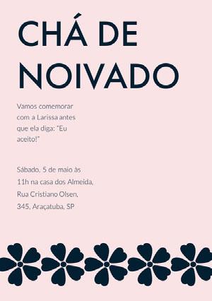 CHÁ DE NOIVADO