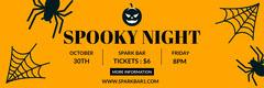 halloween webbanner  Event Banner