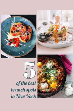 Grey Blue New York Brunch Spots Pinterest  Brunch
