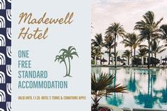 Blue Hotel Gift Certificate  Hotels
