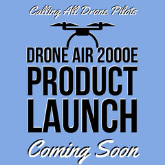 Drone Air 2000e Product Launch Launch