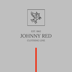 Johnny red clothing tag Wine Label