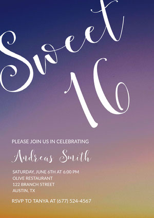 sweet16invitations