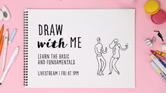 draw with me youtube thumbnail Dance Flyer