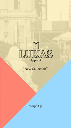 LUKAS New Collection Instagram Story Clothing