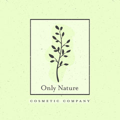 Green Rustic Cosmetic Company Square 1:1 Nature