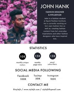 JOHN HANK Social Media Flyer