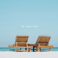 Be right back. Beach