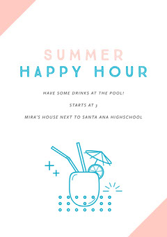 SUMMER HAPPY HOUR Party