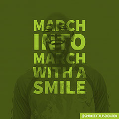 Green Toned March Catchphrase Instagram Post Dentist