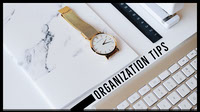 ORGANIZATION TIPS Arte de canal do YouTube
