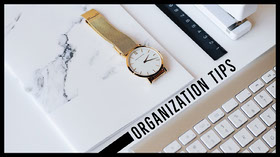 ORGANIZATION TIPS YouTube Banner