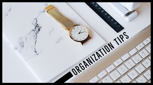 ORGANIZATION TIPS Cabecera del canal YouTube