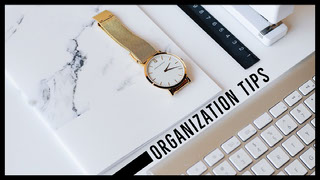 ORGANIZATION TIPS YouTube-Banner