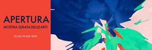 APERTURA<BR>MOSTRA SERATA DELLE ARTI Banner per Tumblr