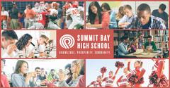 Red High-School Facebook Post Classroom