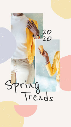 Spring Trends 2020 Instagram Story Spring