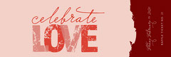 Pink and Claret Valentines Raffle Ticket Celebration