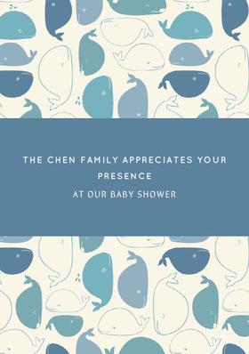 THE CHEN FAMILY APPRECIATES YOUR PRESENCE