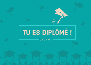 graduation congratulations cards Carte de félicitations