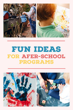 After-School Programs Pinterest Back to School