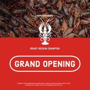 GRAND OPENING Grand Opening Flyer
