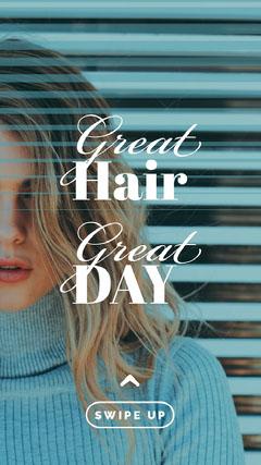 Blue and Grey, Hair Style Tips, Instagram Story Hair Salon