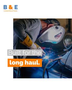 Blue Long Haul Promotion Construction