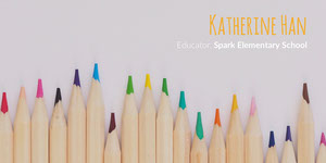 White and Colorful Pencils Educator Linkedin Profile Banner LinkedIn
