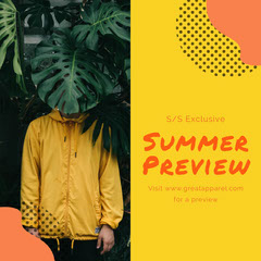 Summer Clothing Preview Instagram Square Clothing