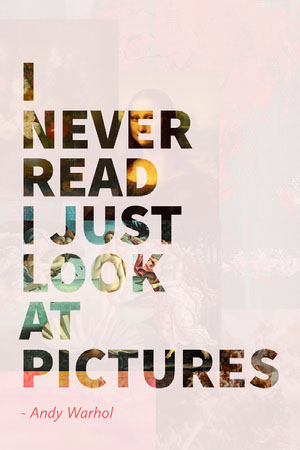 Pink Quote on Reading Pinterest Graphic Quote Posters