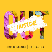 Yellow New Collection Instagram Square Top Templates of 2019