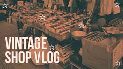 YouTube Vlog Thumbnail Shopping