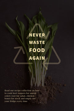 never waste food again Green