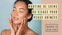 Beige Skincare Routine Youtube Thumbnail