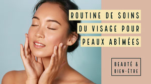 Beige Skincare Routine Youtube Thumbnail  Tailles d'images sur YouTube