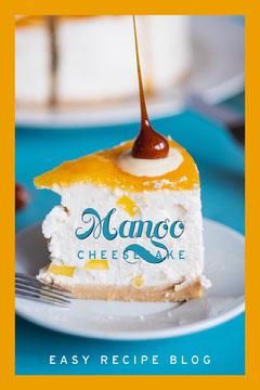 Orange and Blue Mango Cheesecake Recipe Pinterest  Cheese