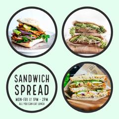 Sandwich Spread Instagram Square Bakery